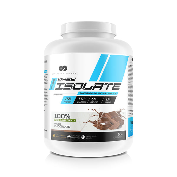 PURE WHEY ISOLATE 5LBS - Double Chocolate