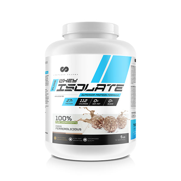 PURE WHEY ISOLATE 5LBS - Choco Ferrerolicious