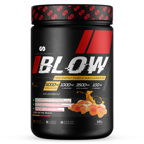 BLOW Pre-Workout - Peach Candy