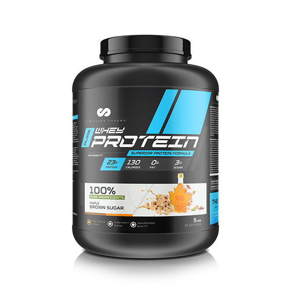 PURE WHEY PROTEIN 5 LBS - Maple Brown Sugar