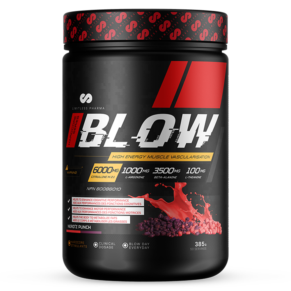 BLOW Pre-Workout - Nerdz Punch