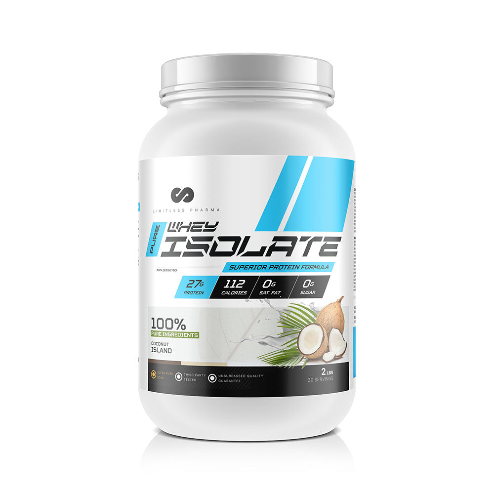 PURE WHEY ISOLATE 2LBS - Coconut Island