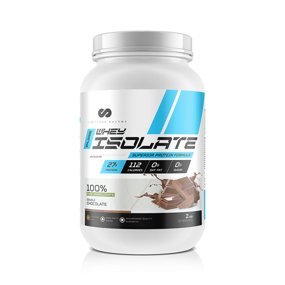 PURE WHEY ISOLATE 2LBS - Double Chocolate
