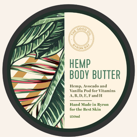 Hemp Body Butter Top - The Good Oil