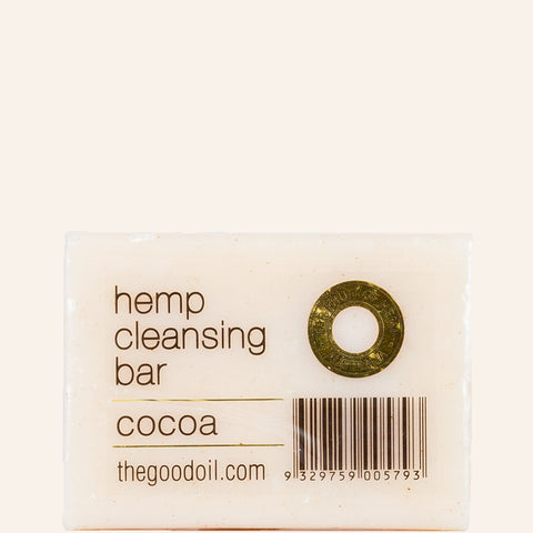 Cocoa Hemp Cleansing Bar - The Good Oil
