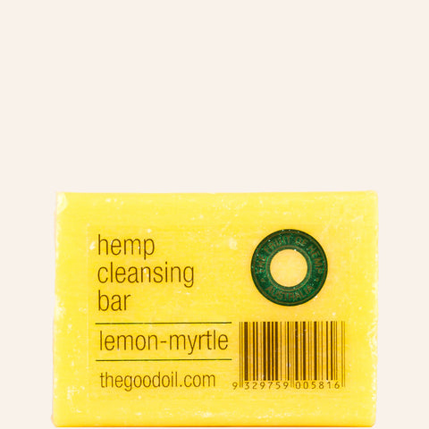 Lemon Myrtle Hemp Cleansing Bar