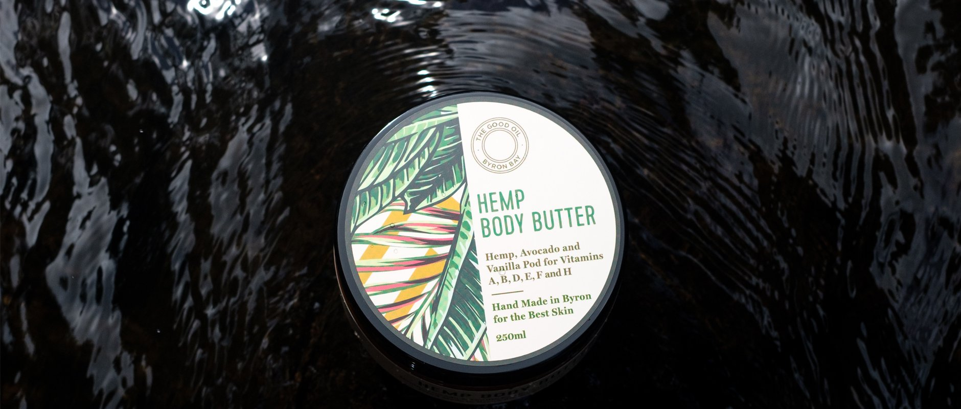 The Good Oil Hemp and Mandarin Cleanser