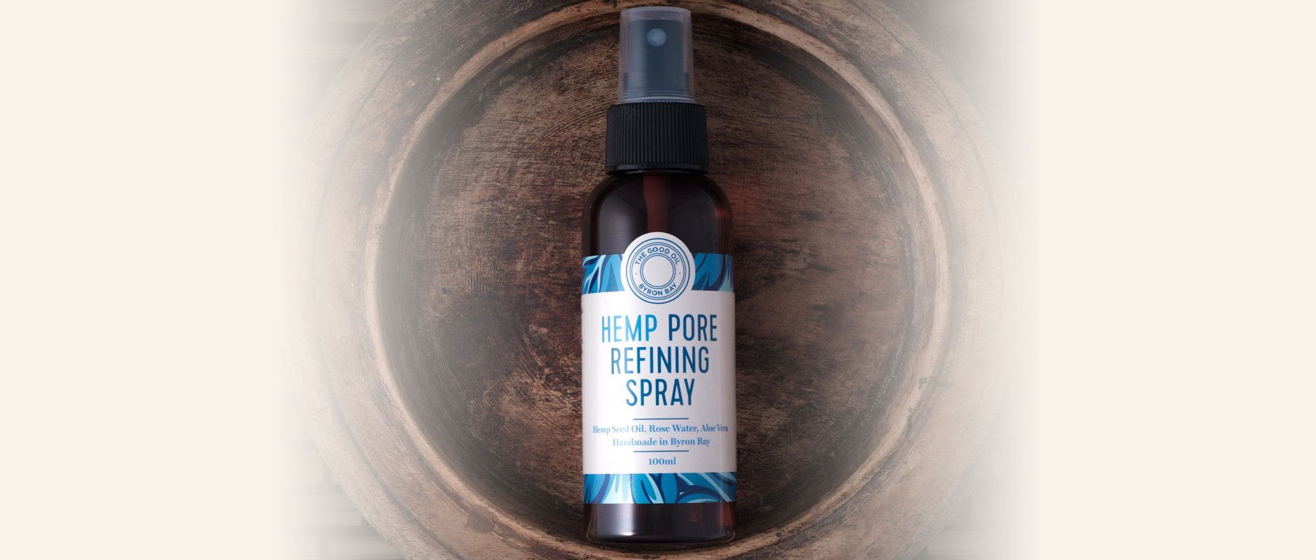 The Good Oil Hemp Pore Refining Spray