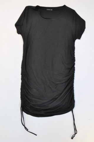 Cotton On Black Cinch T-shirt Dress Women Size XS