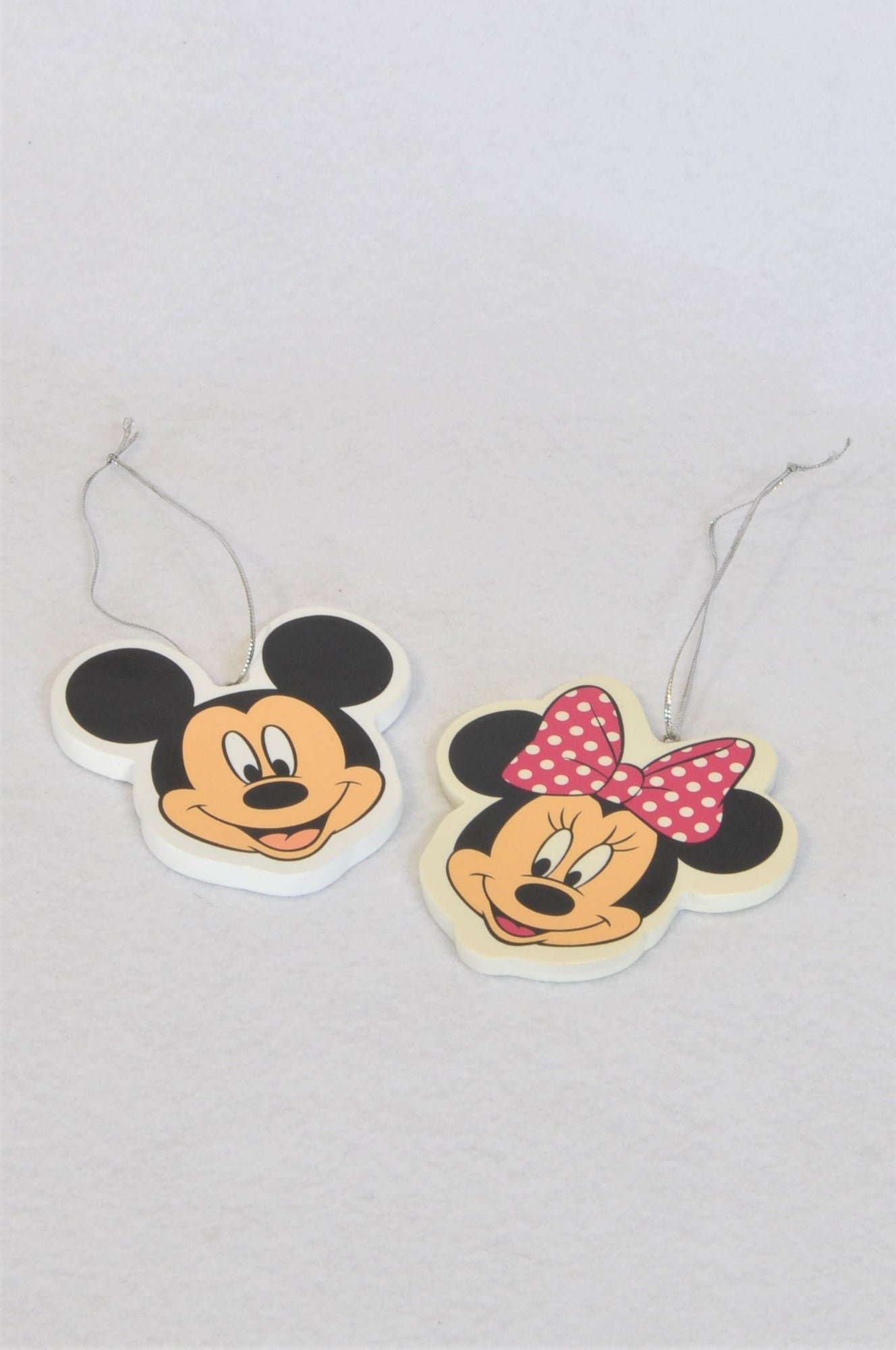 Disney Mickey And Minnie Mouse Ornaments Decor Unisex All Ages