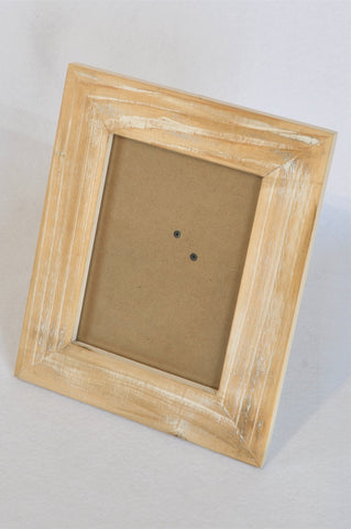 Unbranded White Washed Exposed Wooden Frame Decor Unisex