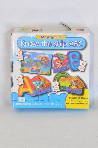 My Playmate Know The Ship ABC 4 pack Puzzle Unisex 3-5 years