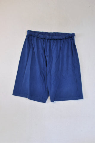Marks & Spencers Blue Lightweight Shorts Boys 10-11 years