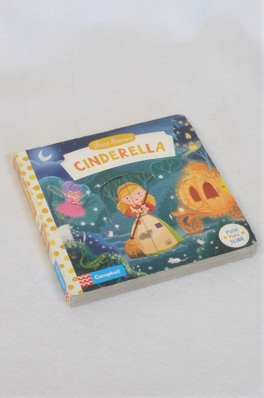 Campbell First Stories Cinderella Push And Pull Hardcover Book Unisex 1-3 years