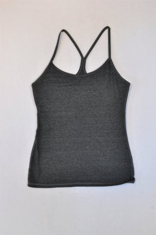 Pick 'n Pay Charcoal Racerback Tank Top Women Size M