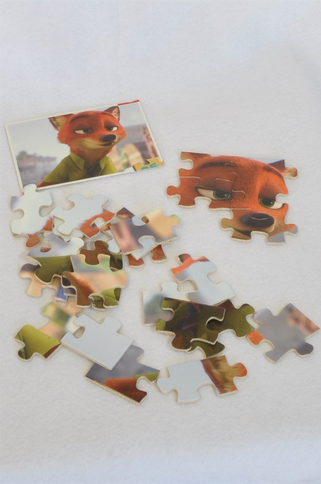 Unbranded 25 Piece Nick From Zootopia Puzzle Unisex 2-6 years