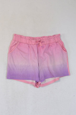 H&M Dusty Light Pink Ombre Shorts Girls 6-8 years