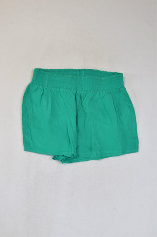 Cotton On Bright Green Lightweight Shorts Girls 7-8 years