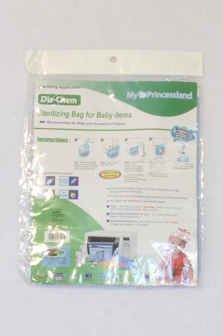 New Dis-Chem Sterilizing Bag For Baby Items Steriliser Unisex N-B to 3 years