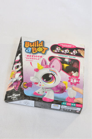New Build A Bot Make Your Own Robotic Unicorn Toy Girls 5+ years