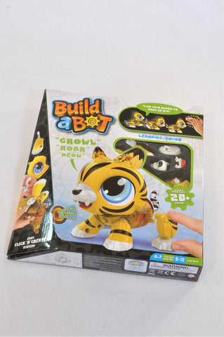 New Build A Bot Make Your Own Robotic Tiger Toy Unisex 5+ years