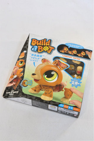 New Build A Bot Make Your Own Robotic Puppy Toy Unisex 5+ years