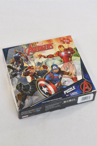 New Marvel 100 Piece Avengers Puzzle Unisex 4-10 years