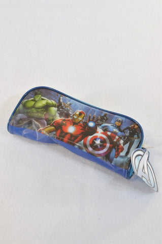 New Marvel Avengers Assemble Pouch & 48 Piece Puzzle Unisex 3-10 years