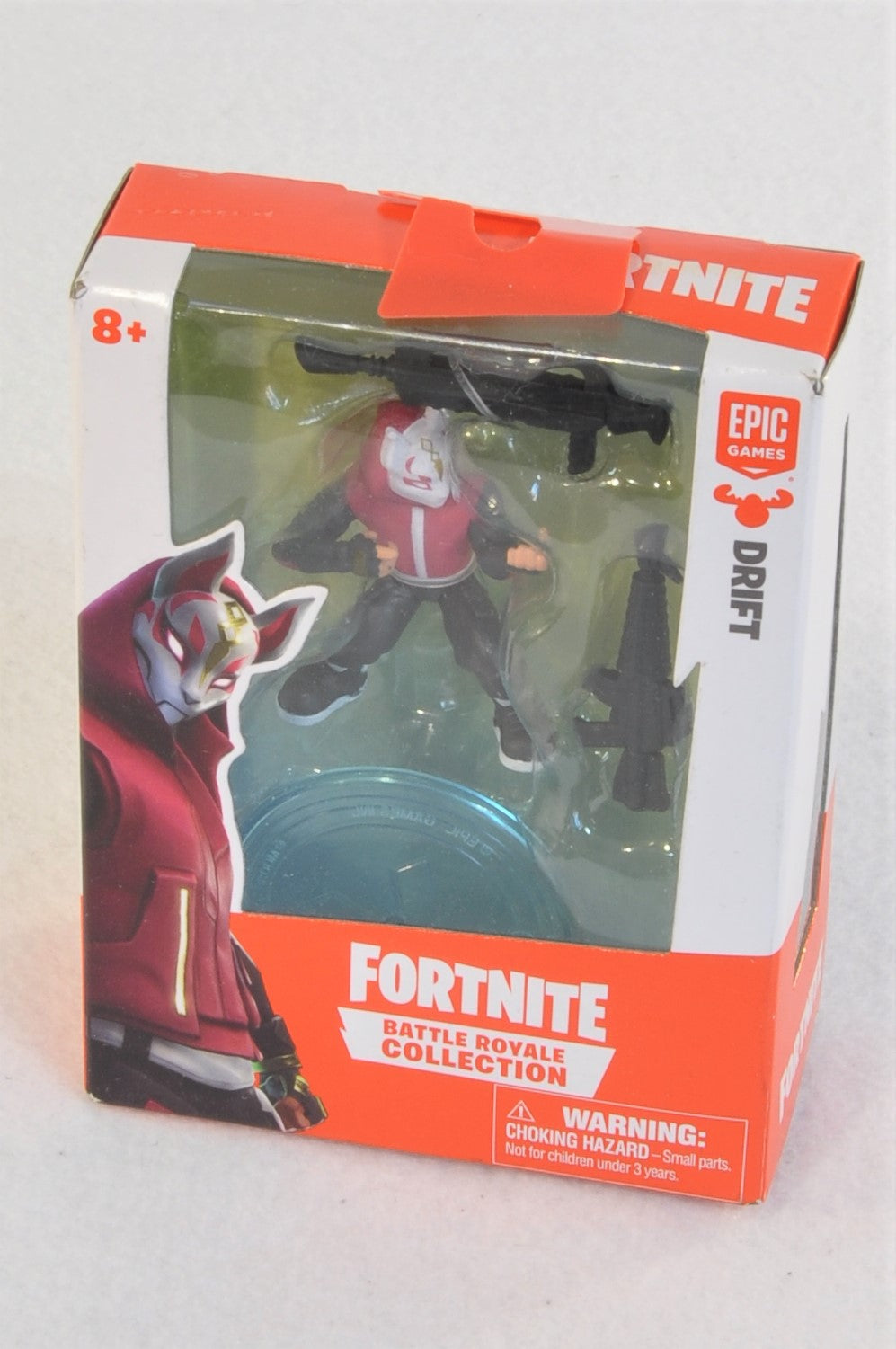 "New Epic Games Epic Games Fortnite Battle Royal Collection ""Drift"" Collectible Toy Boys 8+ years"