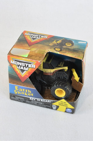 New Monster Jam Earth Shaker 1:43 Rev 'n Roar Truck Toy Boys 3-10 years