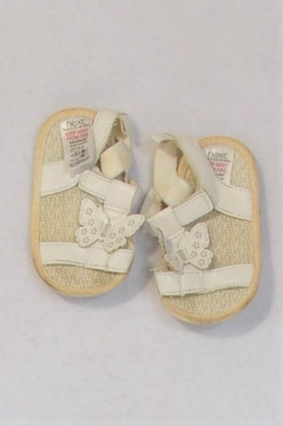 Next Size 3 Butterfly Sandals Girls 9-12 months