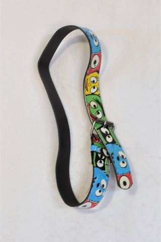 Unbranded Multi Color Emoji Face Belly Belt Unisex 4-6 years