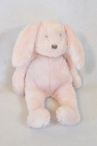 Unbranded Pink Fleece Bunny Soft Toy Girls N-B to 10 years