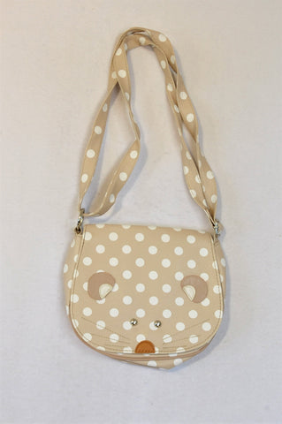 Beige Little Mouse Handbag Girls 1-16 years
