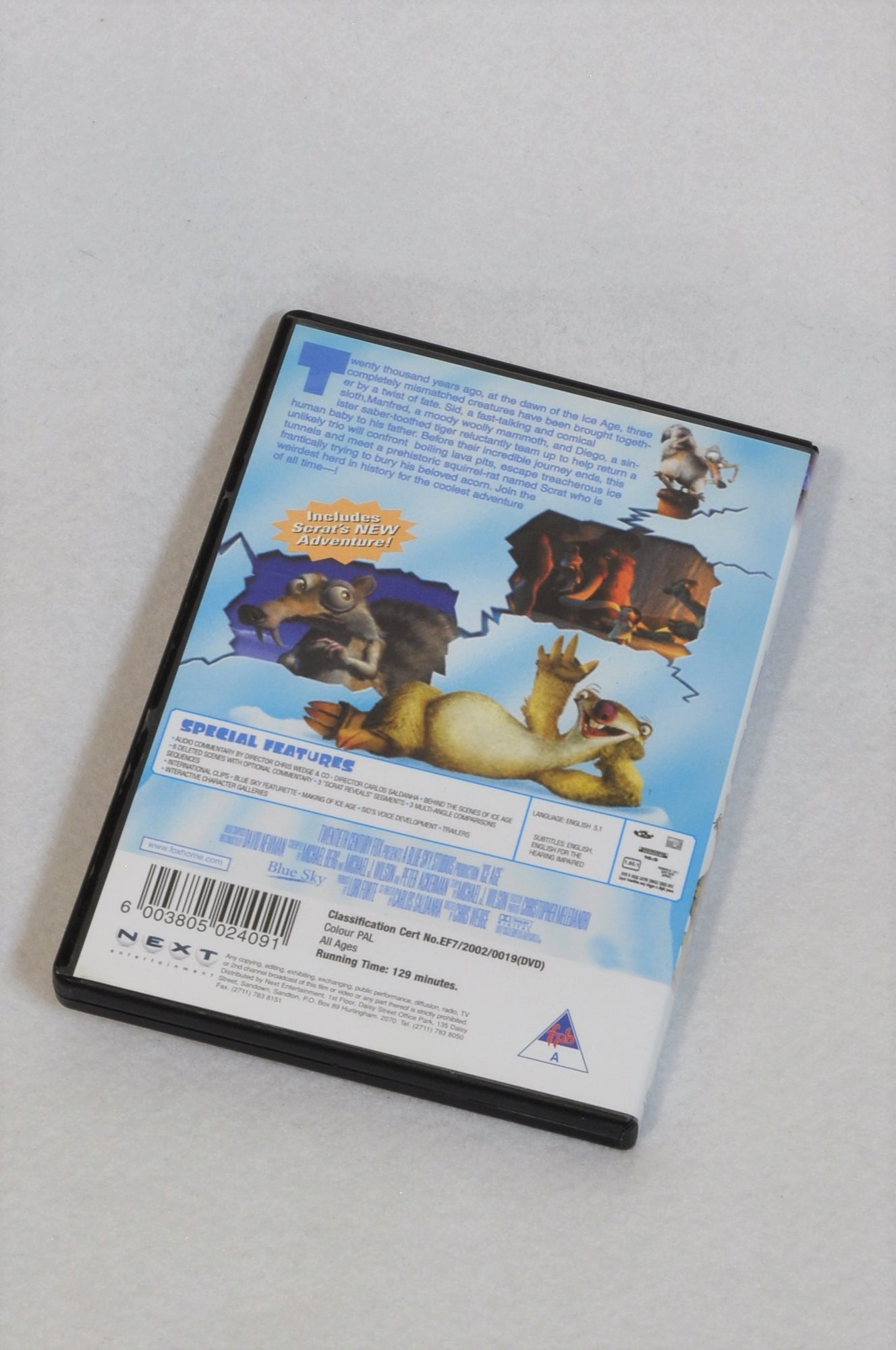Unbranded Ice Age Kids DVD Unisex 1-10 years