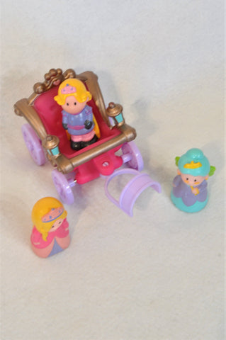 ELC Happyland Enchanted Carriage Set Toy Unisex 2-6 yearsh