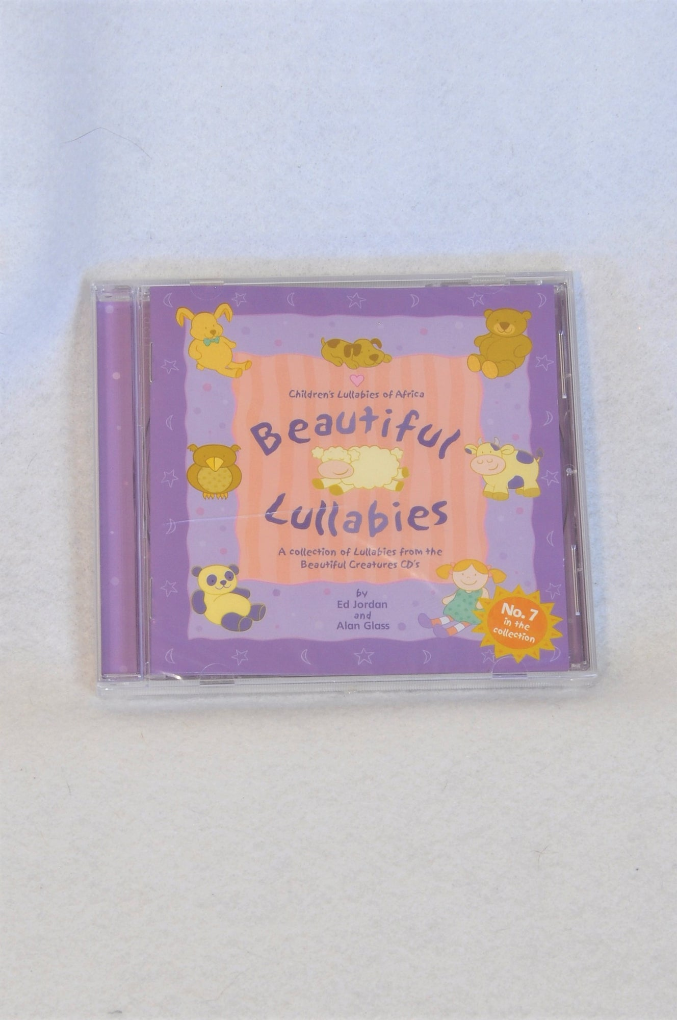 New Unbranded Beautiful Lullabies CD Unisex N-B to 1 year