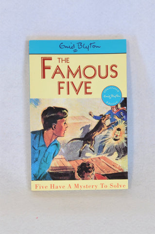 Enid Blyton's The Famous Five Have a Mystery to Solve Paperback Book Unisex 6+ years