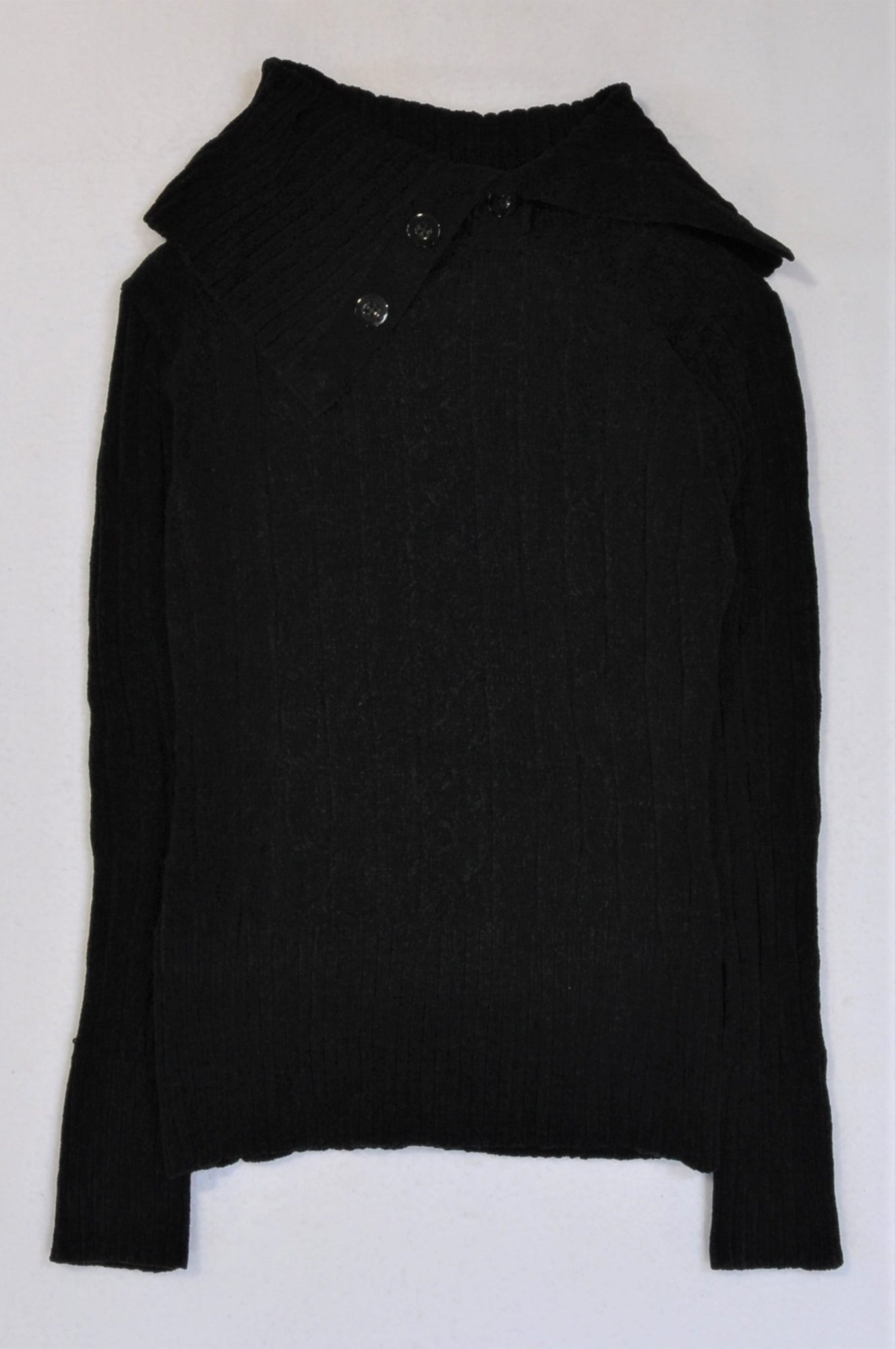 Woolworths Black Jersey Women Size M