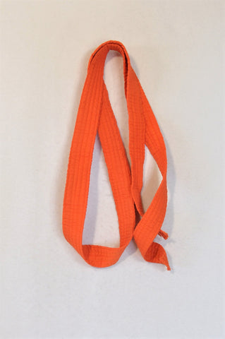 Unbranded Orange Martial Arts Sportswear Belt Unisex 3+ years