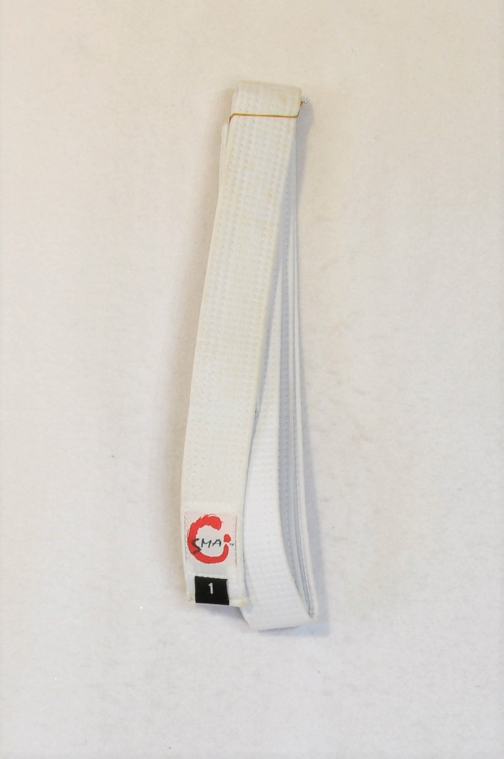 New SMA Size 1 White Martial Arts Sportswear Belt Unisex 3+ years