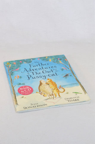 Puffin The Further Adventures Of The Owl And The Pussy-Cat With CD Paperback Book Unisex 4-10 years