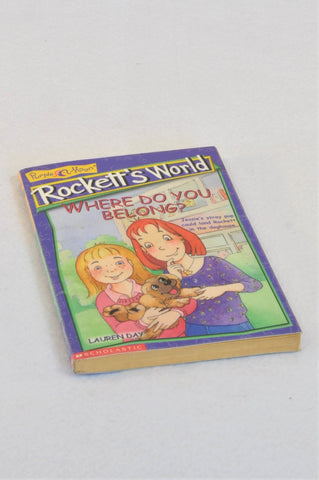 Purple Moon Rockett's World Where Do You Belong? Paperback Book Unisex 10+ years