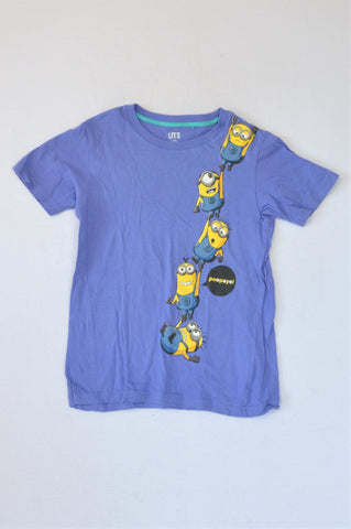 Uniqlo Blue Minion T-shirt Boys 9-10 years