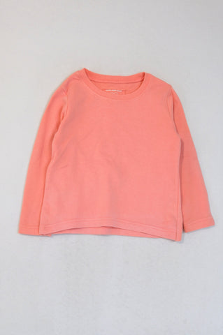 Young Dimension Lumo Pink Pull Over Top Girls 4-5 years