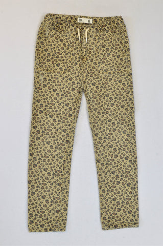 Cotton On Leopard Jeans Girls 7-8 years