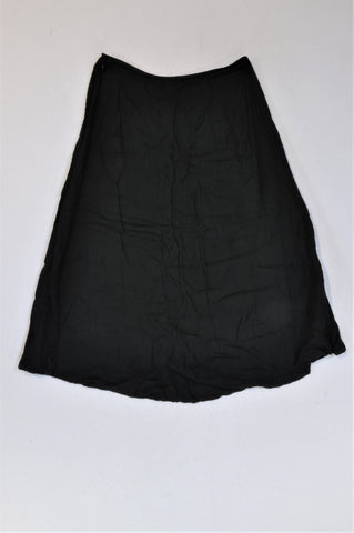 Croft & Barrow Black Skirt Women Size 6