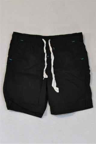Waga Dude Black Shorts Boys 3-4 years