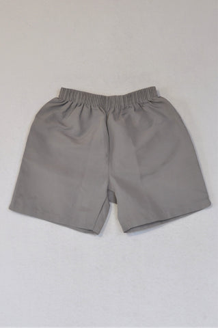 Little Grey Shorts Boys 6-7 years