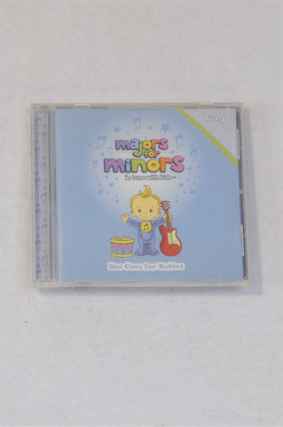 Gibb Brothers Majors For Minors CD Unisex N-B to 3 years